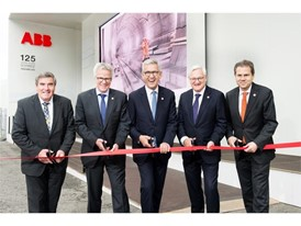 The ABB delegation at the pavilion inauguration