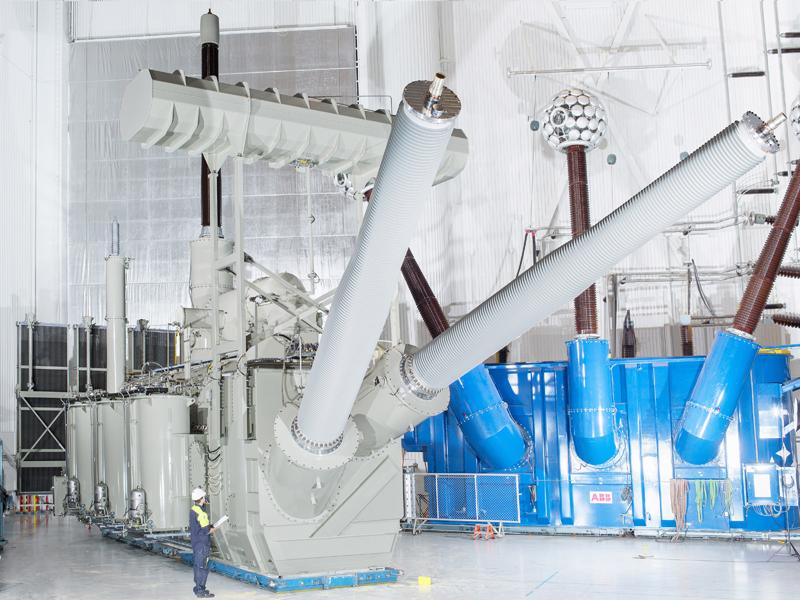 China 800 kV UHVDC Transformer Person