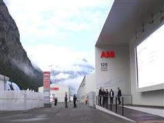 ABB technology makes history in the Swiss Alps