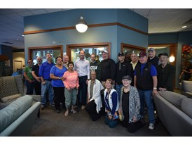 Bill Cowher Visits Hope Lodge