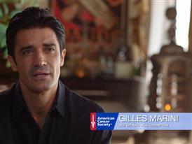 Gilles Marini on Road to Recovery