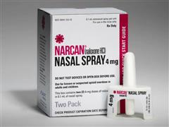 NARCAN® (Naloxone Hydrochloride) NASAL SPRAY Now Available in the United States for Emergency Treatment of Known or Suspected Opioid Overdose