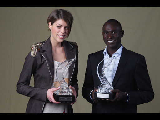 World Athletes of the Year: Rudisha and Vlasic Scoop Top Awards