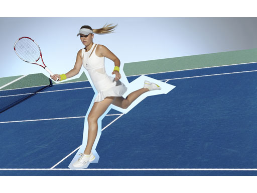 Image : Caroline Wozniacki - Tennis Range - US Open - FW11