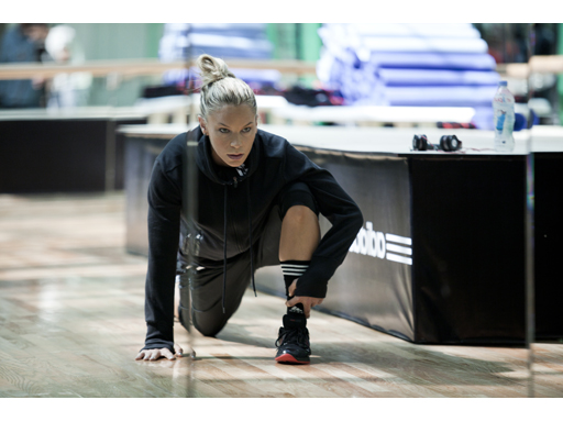 adidas boxing inspired training SS12 - Ashley Conrad