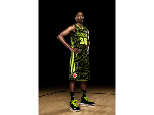 Image : McDonald's All American adizero West Uniform 2