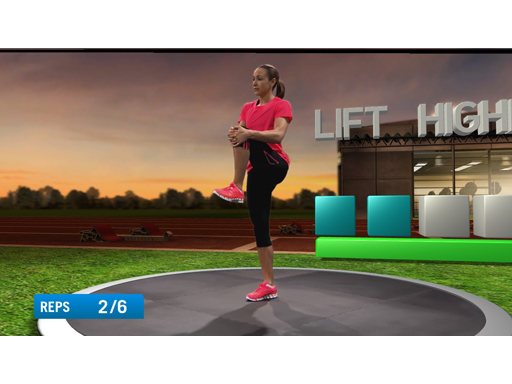 Image : miCoach Console Game - Jessica Ennis