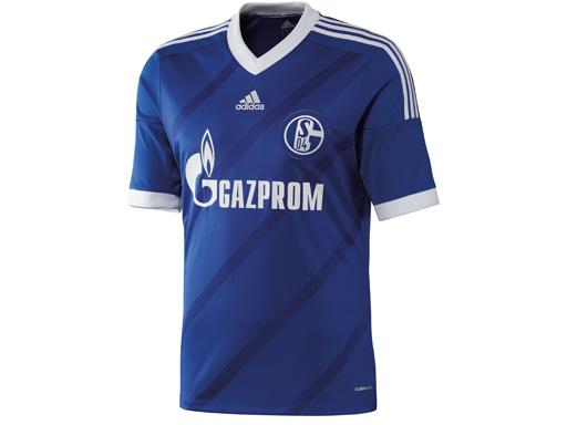 Das neue Schalker Heimtrikot von vorne