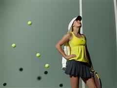 Caroline Wozniacki to wear new  adidas by Stella McCartney fall/winter 2010 tennis dress