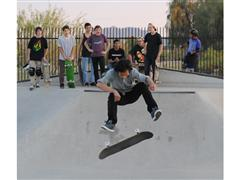 adidas Pro Skateboarders capture Phoenix kids' Game Faces at local skate park