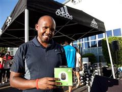 adidas kick starts first adi-active run in 2012