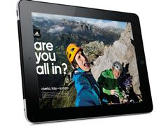 adidas goes 'all in': the Outdoor Magazine for the iPad
