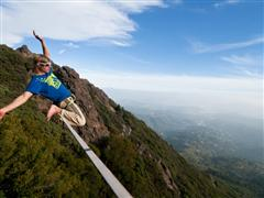 Slacklining across the USA: Lukas Irmler Travels to Slacklining Birthplace and Takes it to Next Level