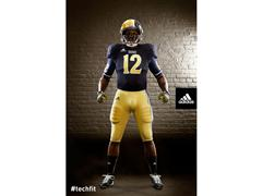adidas and Notre Dame Unveil New TECHFIT Football Uniforms for Shamrock Series