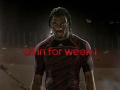Robert Griffin III Trains for Week One in New adidas TV Spot