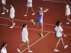 adidas by Stella McCartney Barricade Shoe Launches at the French Open