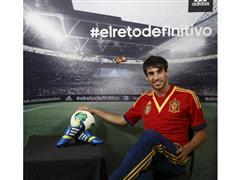 adidas estrena con Javi Martínez su nueva campaña de fútbol durante COPA CONFEDERACIONES 2013