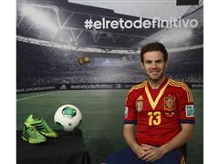 adidas presenta a Juan Mata en su campaña de fútbol durante COPA CONFEDERACIONES 2013