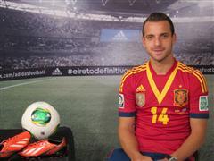 adidas presenta a Roberto Soldado en su campaña de fútbol durante COPA CONFEDERACIONES 2013