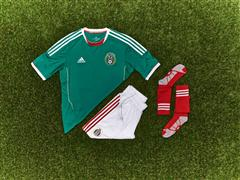 Mexico Official Match Kit adidas Team 2013 FIFA Confederations Cup