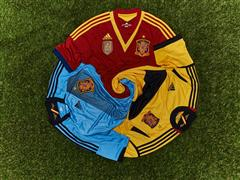 Spain Official Match Kit adidas Teams 2013 FIFA Confederations Cup