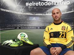 adidas presenta a Pepe Reina en su campaña de fútbol durante COPA CONFEDERACIONES 2013