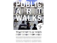 "adidas and AREA3 present ""City Walks"" Public Art Walks"