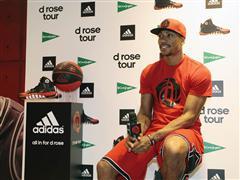 adidas Basketball ha presentado a la estrella de la NBA durante el D Rose Tour