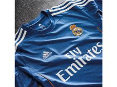 Real Legends. Real Madrid. Launch of the new adidas Real Madrid away jersey for 2013 / 2014 season