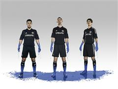adidas reveal new Chelsea Football Club 3rd kit for the 2013/14 season