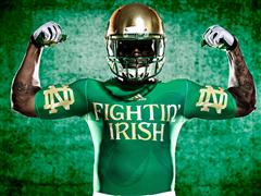 New Notre Dame Shamrock Series Uniforms