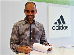 Pep Guardiola Announced as adidas Ambassador