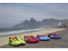 adidas präsentiert Fußballschuhe in Samba-Farben