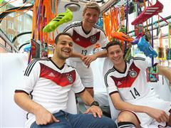 German National Team to Play World Cup all in White