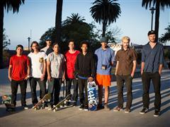 Promesas del skate local comparten suelo chileno con skaters de categoría mundial