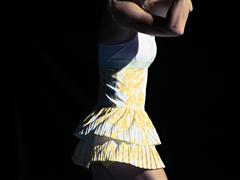 adidas by Stella McCartney barricade in Australian Open