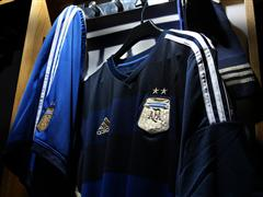 adidas introduces the new away jersey of the Argentinian Football Federation