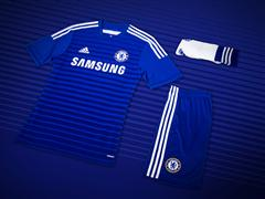 adidas and Chelsea Football Club launch 2014/15 home kit