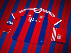 adidas unveil new Bayern Munich 2014/2015 home-kit