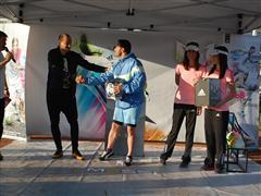 """Мартин Петров връчи голямата награда от """"Предизвикателството"""" на adidas"""