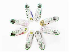Pharrell Williams designt adidas Stan Smith - eine limitierte Edition von zehn Modellen handgemalter Stan Smith von Pharrell Williams