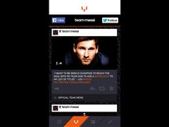 Vamos Leo: all there is to know about Messi live from the 2014 FIFA World Cup Brazil™