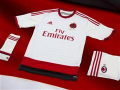 adidas and AC Milan present the Rossoneri away jersey for the 2014/15 season during the team's US tour in New York