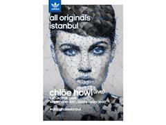adidas all Originals İstanbul partisi 20 Eylül'de Küçükçiftlik Park'ta