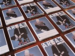 adidas Originals AREA3 Broadsheet - Fifth issue on street this week