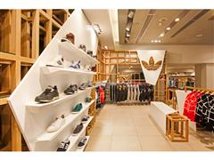 adidas Originals fashion corner στο department store του attica