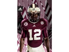 Texas A&M and adidas Unveil 1939 Throwback Uniforms