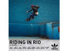 adidas Latin America Skateboarding Team hace tour en Rio de Janeiro