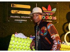 Pharrell Williams y adidas celebran su colaboración en LA