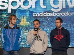 Los mejores embajadores de adidas en Barcelona dan la bienvenida a la Navidad